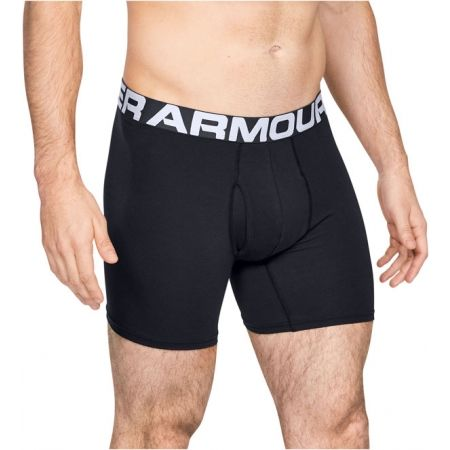 Pánské boxerky - Under Armour CHARGED COTTON 6IN 3 PACK - 4