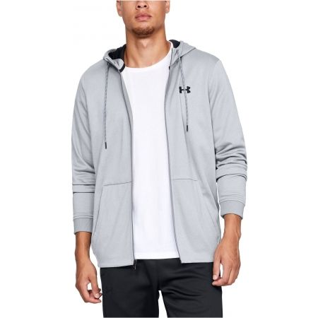 Pánska mikina - Under Armour FLEECE FZ HOODIE - 4