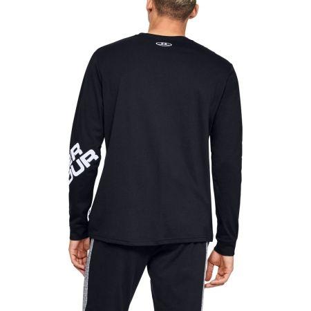 Pánské triko s dlouhým rukávem - Under Armour WORDMARK SLEEVE LS - 6