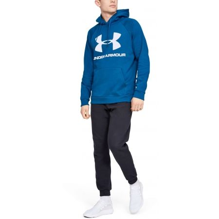 Under Armour RIVAL FLEECE SPORTSTYLE LOGO HOODIE - Pánska mikina