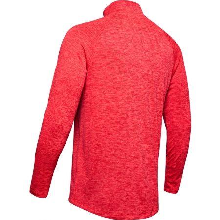 Pánske tričko s dlhým rukávom - Under Armour TECH 2.0 1/2 ZIP - 2