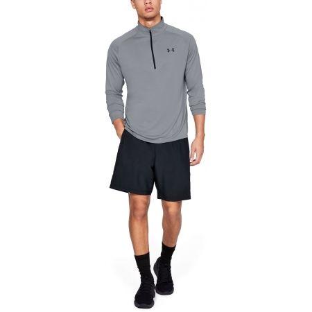 Koszulka z długim rękawem męska - Under Armour TECH 2.0 1/2 ZIP - 3