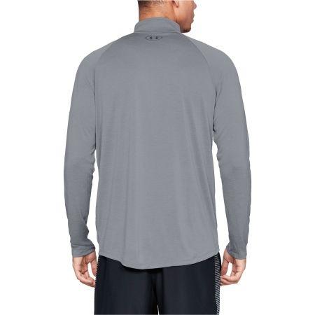 Koszulka z długim rękawem męska - Under Armour TECH 2.0 1/2 ZIP - 5
