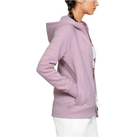 Dámska mikina - Under Armour RIVAL FLEECE SPORTSTYLE LC SLEEVE GRAPHI - 5