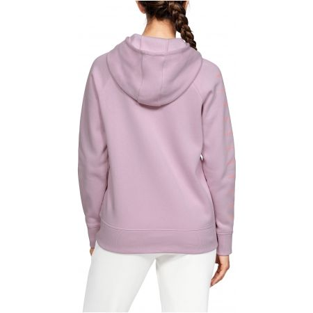 Dámska mikina - Under Armour RIVAL FLEECE SPORTSTYLE LC SLEEVE GRAPHI - 6