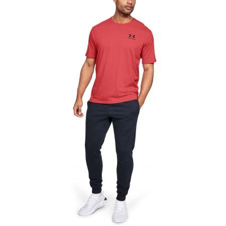 Мъжка тениска - Under Armour SPORTSTYLE LEFT CHEST SS - 3