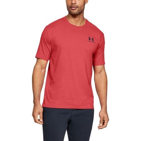 Мъжка тениска - Under Armour SPORTSTYLE LEFT CHEST SS - 4