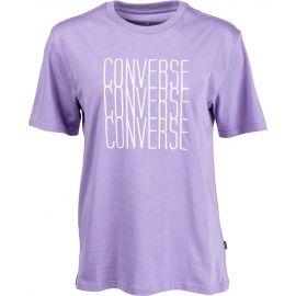 Converse LOGO REMIX TEE - Pánske tričko