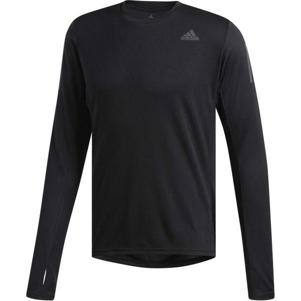 adidas OWN THE RUN LS černá M - Pánské běžecké triko