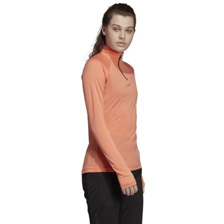 Women's sweatshirt - adidas TRACEROCKER 1/2 ZIP - 6