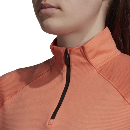 Women's sweatshirt - adidas TRACEROCKER 1/2 ZIP - 9