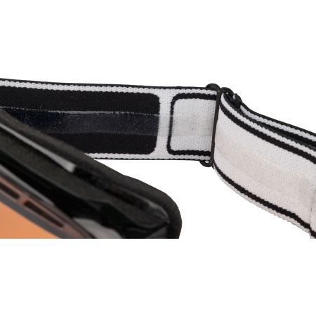 Y6 OTG VERMILLON BLACK MODULATOR – Gogle narciarskie dostosowane do noszenia pod nimi okularów korekcyjnych - Bolle Y6 OTG VERMILLON BLACK MODULATOR - 2