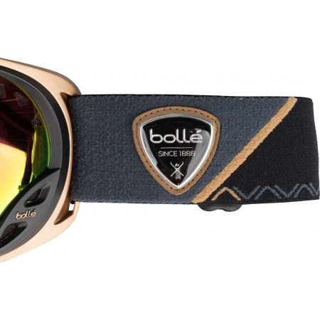 Women's downhill ski goggles - Bolle DUCHESS ROSE GOLD - 2