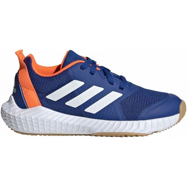 adidas FORTAGYM K niebieski 5 - Obuwie halowe dziecięce