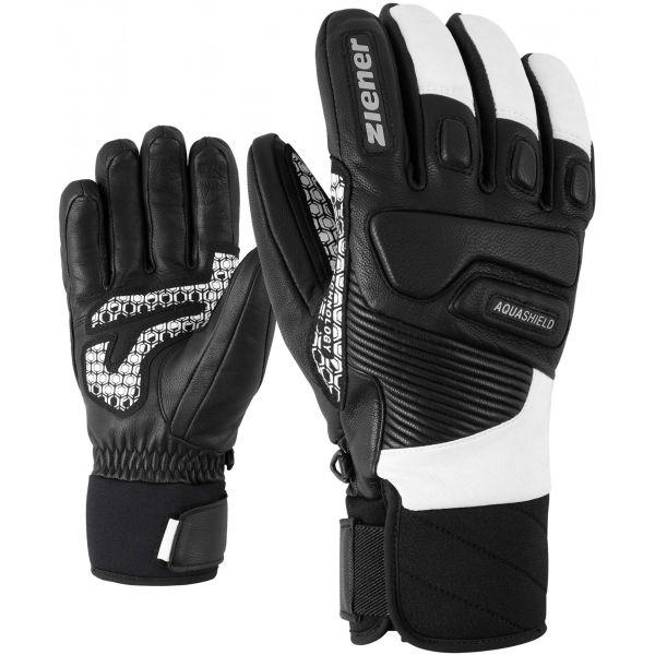 Ziener GISOR AS čierna 9 - Pánske rukavice