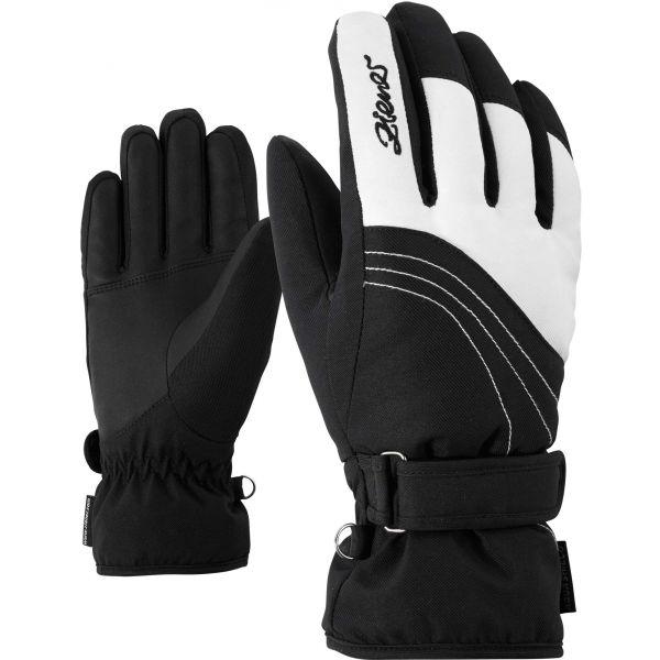 Ziener KONNY AS W čierna Dámske rukavice 6