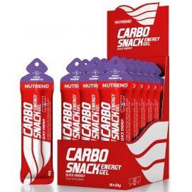 Nutrend CARBOSNACK 50G BORŮVKA - Energetický gel v sáčku