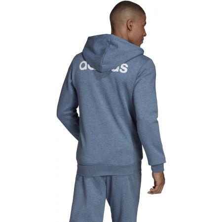 Men's hoodie - adidas E LIN FZ FL HOODY - 7