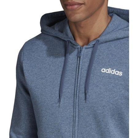 Men's hoodie - adidas E LIN FZ FL HOODY - 8