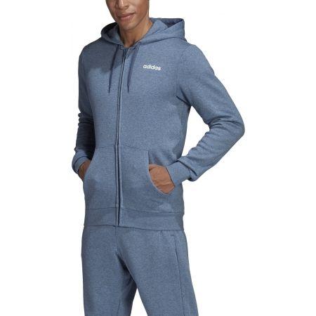 Men's hoodie - adidas E LIN FZ FL HOODY - 3