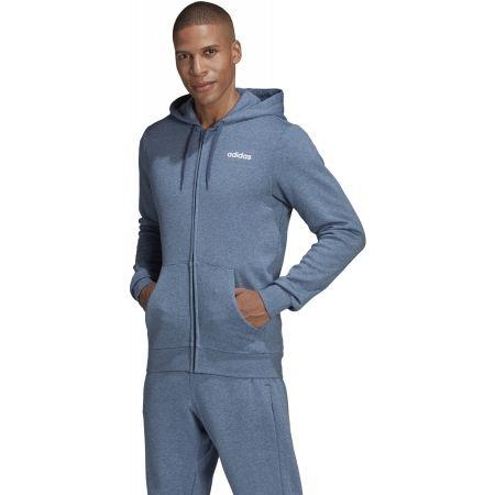 Men's hoodie - adidas E LIN FZ FL HOODY - 4