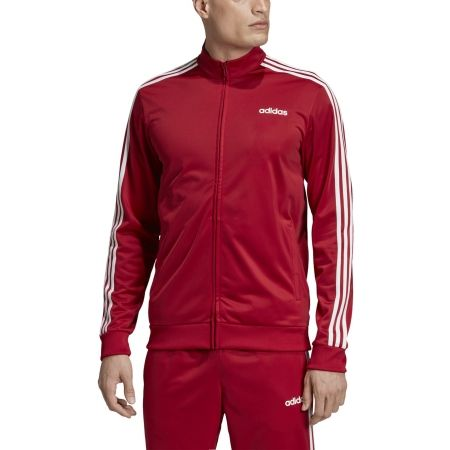 Men's sweatshirt - adidas ESSENTIALS 3 STRIPES TRICOT TRACK TOP - 3