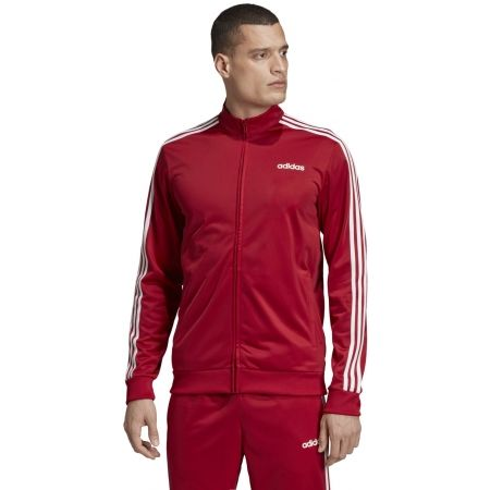 Men's sweatshirt - adidas ESSENTIALS 3 STRIPES TRICOT TRACK TOP - 4