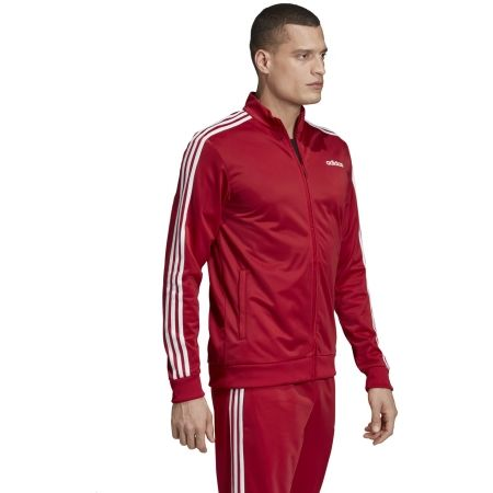 Men's sweatshirt - adidas ESSENTIALS 3 STRIPES TRICOT TRACK TOP - 5