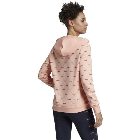 Дамски суитшърт - adidas CORE FAVOURITES HOODY - 7