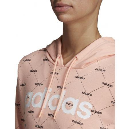 Дамски суитшърт - adidas CORE FAVOURITES HOODY - 8