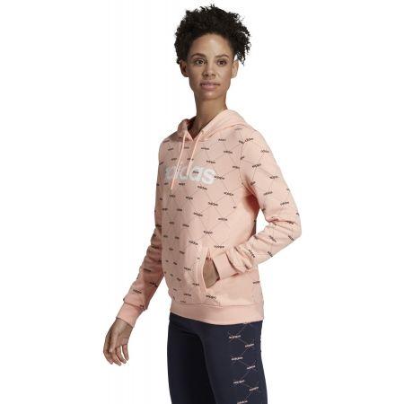 Дамски суитшърт - adidas CORE FAVOURITES HOODY - 6