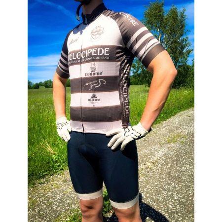 Pánský cyklistický dres - Rosti VELOCIPEDE KR ZIP - 4