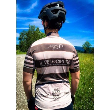 Pánský cyklistický dres - Rosti VELOCIPEDE KR ZIP - 5