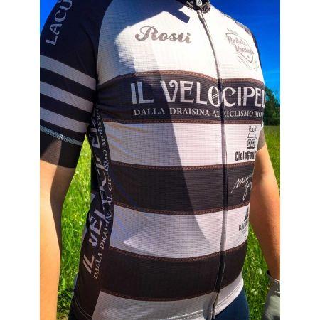 Pánský cyklistický dres - Rosti VELOCIPEDE KR ZIP - 6