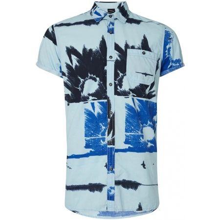 O'Neill LM ALLOVER FLOWAL S/SLV SHIRT - Pánská košile