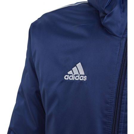 Kurtka sportowa chłopięca - adidas CORE18 STD JKT - 4