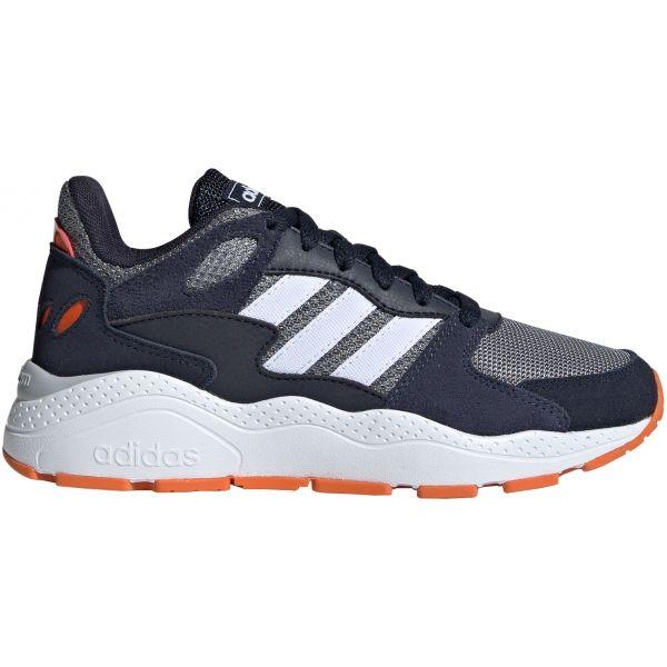 adidas CRAZYCHAOS J tmavě modrá 5 - Dětská volnočasová obuv
