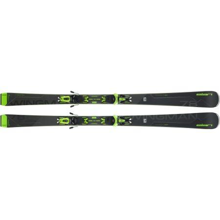 Zjazdové lyže - Elan WINGMAN 78 C PS + EL 10 - 5