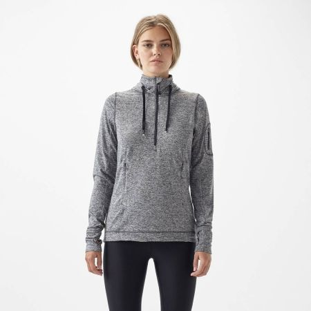Дамски суитшърт - O'Neill PW TECH HALF ZIP FLEECE - 4