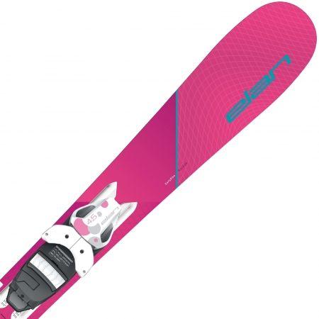 Dievčenské zjazdové lyže - Elan LIL STYLE QS + EL 4.5 - 1