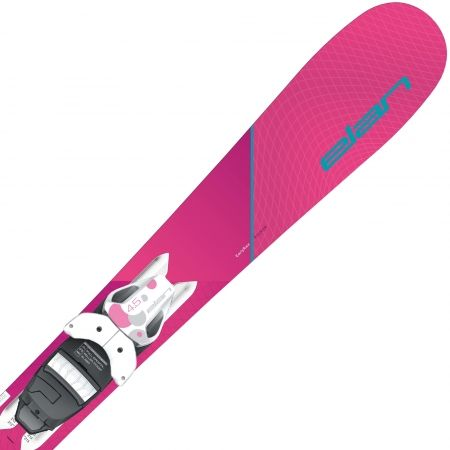 Dívčí sjezdové lyže - Elan LIL STYLE QS + EL 7.5 - 3