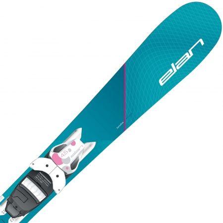 Момичешки ски за спускане - Elan LIL STYLE QS + EL 7.5 - 1