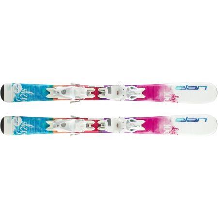 Dievčenské zjazdové lyže - Elan SKY QS + EL 7.5 - 3