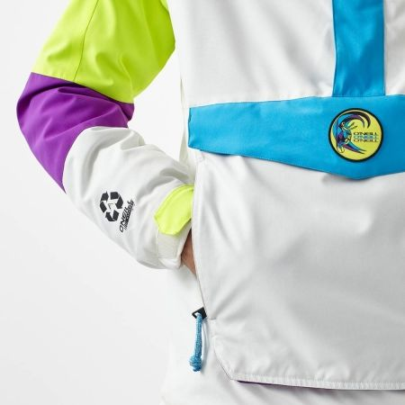Pánská lyžařská/snowboardová bunda - O'Neill PM FROZEN WAVE ANORAK - 5