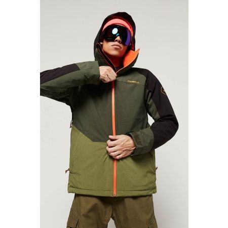 O'Neill Perform Mens Galaxy IV Ski Jacket Black Out