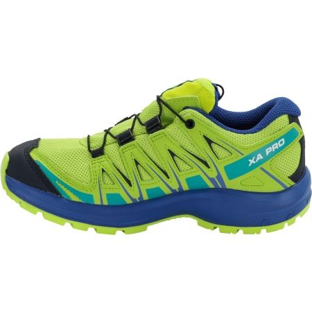 Dětská běžecká obuv - Salomon XA PRO 3D CSWP J - 4