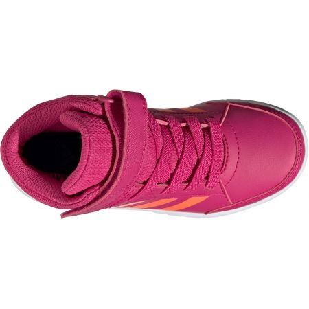 Detská voľnočasová obuv - adidas ALTASPORT MID K - 5