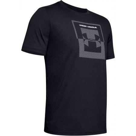Under Armour INVERSE BOX LOGO - Pánské tričko