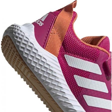 Dětská sálová obuv - adidas FORTAGYM CF K - 8
