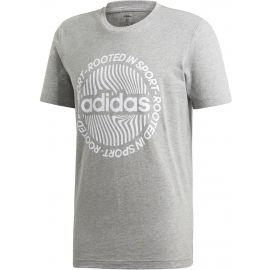 adidas CORE CIRCLED GRAPHIC TEE - Pánske tričko